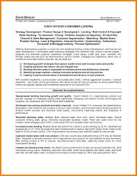 11 Loan Officer Resume Informal Letters