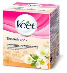 Купить <b>Воск для депиляции теплый</b> Veet Жасмин, 250 мл с ...