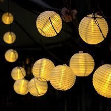 innoo tech solar string lights outdoor 157ft 20