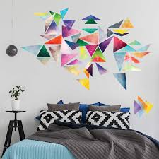 Wall Patterns With Tape Uncategorized Geometric Shape Decor Flannel Quilt Patterns Tape