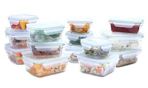 glasslock storage containers snapware tempered glass food with lids sets