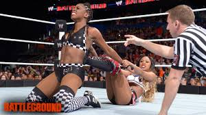Naomi vs. Cameron: WWE Battleground Kickoff - YouTube