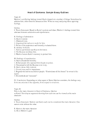 outline of essay example com outline of essay example 6 for a template