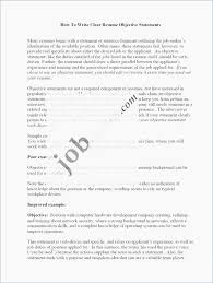 Career Change Resume Objective Statement Examples Sample What Is