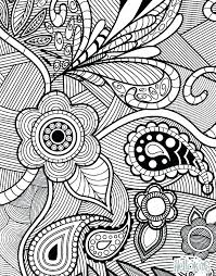 Big Flower Coloring Pages Fashionadvisorinfo