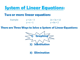 section 7 1 solving systems of equations by graphing ppt