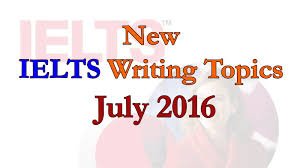 new ielts writing topics