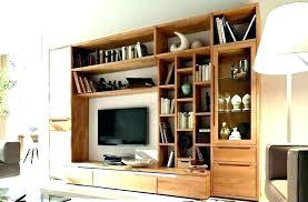corner entertainment shelf shelving unit long wall large size of for