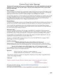 Cv Cover Letter Opening Best Cover Letter Opening Commonpenceco ...