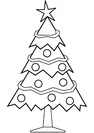 Christmas Trees Coloring Pages Chronicles Network
