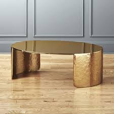 cuff hammered gold coffee table unique tables canada