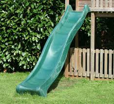 3m green children s garden water slide for climbing frames