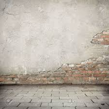 Grunge Background Red Brick Wall Texture Bright Plaster Wall - Plastering exterior walls