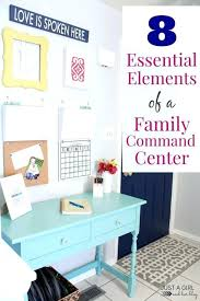 um image for chic 8 essential elements of a family command center 8 essential elements of