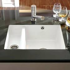 granite countertops with undermount sinks granite sink amp subway alpine white ceramic 1 5 bowl kitchen granite countertops with undermount sinks