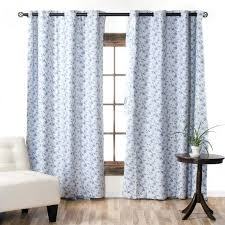 large image for short white cotton curtains curtain white blackout ds linen blackout curtains white blue