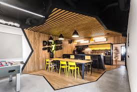 pictures of an office. droids on roids is a team of programmers so making their new office seem familiar made perfect sense to the designers at modelina pictures an