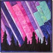 Northern Lights quilt pattern, 33.5 x 24.5, by Marie Noah at ... & northern lights quilt Adamdwight.com
