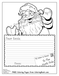 Small Picture Coloring Pages Free Online Coloring Pages Santa Letter