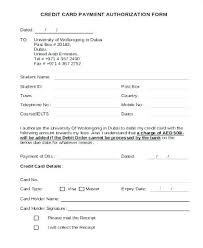 Credit Card Authorization Form Resume Lovely Template High Australia ...