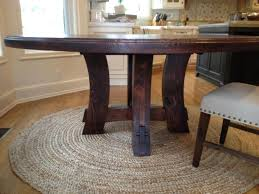 10 diy round dining room table diy round rustic dining table tremendous cottage kitchen table plans