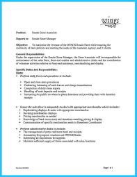 Sample Resume For Merchandiser Job Description Gallery Of Job Resume Top Retail Store Manager Resumes Template 93