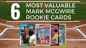 Check spelling or type a new query. 6 Most Valuable Mark Mcgwire Rookie Cards Old Sports Cards