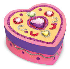 Melissa And Doug Decorate Your Own Jewelry Box Melissa and Doug Wooden Heart Box to Decorate Toys and Games 27