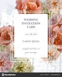 wedding invitation card vector beautiful fl frame vertical banner poster template 3d backgrounds