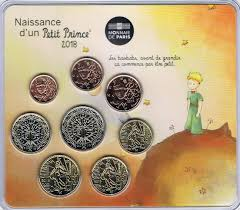france euro coinset special coinset baby set boys the little prince 2018