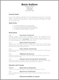 Free Resume Online Download Impressive Create Free Resumes How To Create A Resume For Free Create New