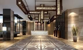 Hotel Lobby Interior Design Corridor