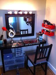 easy diy makeup vanity