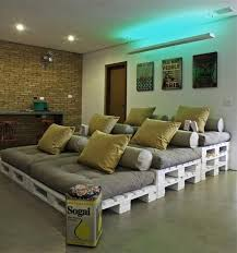 movie theater living room. recycled pallet home movie theater living room g
