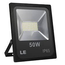 Le Lighting Le Led Spotlight 50 W 4000 Lumens Super Bright Headlight Ip65 Waterproof 5000 Kelvin Cold White Floodlight Suitable For Garden Garage Hotel