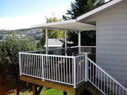 aluminum porch railing systems. porch colonial bordeaux rail white classic picket w/stairway aluminum railing systems n