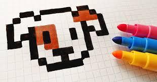Pixel art facile tous nos modèles de dessins la. Kawaii Images De Pixel Art Novocom Top