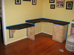 diy home office. Diy Home Office Desk Plans Building A Wooden Computer Woodworking Community With Cubbies