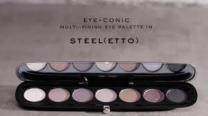 Eye-Conic Eyeshadow Palette in <b>Steel</b>(<b>etto</b>) | <b>Marc Jacobs Beauty</b> ...