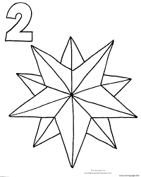 Small Picture Christmas Star Countdown Coloring pages Printable