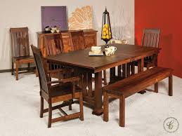wooden dining room chairs amish oak in texas