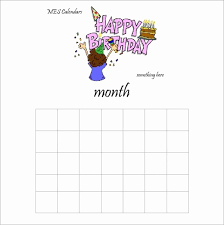 Birthday Calendar Templates Perpetual Calendar Calendar Template ...