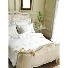 designers guild spring lily duvet cover set king save nicole miller gold white full size