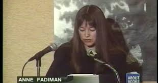 anne fadiman reads spirit catches fall