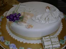 First Communion Cakes For First Communion Metalodic Decors