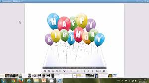 how to create a birthday card on microsoft word how to make birthday greeting card picture to have 3d popup effect
