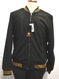 Designer Suede Jacket Details About Mens Platini Gold And Black Designer Suede Feel Bomber Jacket