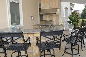 Outdoor Kitchen Designs With Pool New Outdoor Kitchen Fireplace Design In NJ K C Land Design