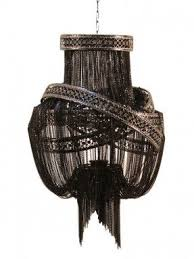 black chandelier lighting. clara chandelier by pangea home at gilt anoother black lighting