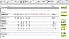 Cash Flow Model Excel 7 Steps To Create Your Cash Flow Budget Plan For Positive